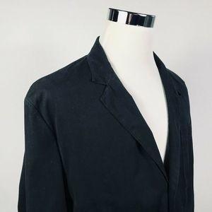 Polo Ralph Lauren Mens XL Casual Sport Coat Black